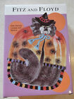 Fritz & Floyd Kitty Witches Canape With Spiders NIB Never Displayed