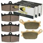 Front And Rear Brake Pads for Suzuki GSF1200 GSF1200A GSF1200S Sa Bandit 1200