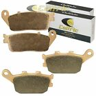 FRONT and REAR BRAKE PADS Fits HONDA VT1100C2 Shadow 1100 ACE 1995-2001