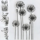 DIY Flower  Grass Transparent Silicone Clear Rubber Stamp Sheet Cling Scrapbook