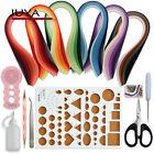 Juya Paper Quilling Kits with 3mm Width 30 Colors 600 Strips and 8 Tools Pink