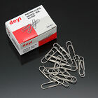 One Box of Paper Clips Office Home Use Metal Paper Clip Silver Color