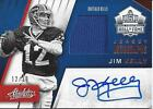 2016 ABSOLUTE JIM KELLY HALL OF FAME AUTO JERSEY #12 30 JERSEY NUMBER BUFFALO