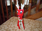 Vintage 1960 Collectible DAKIN DREAM PET CHRISTMAS REINDEER MADE IN JAPAN #715
