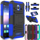 For Alcatel Ideal Dawn 5027B Phone Case Holster Hybrid Stand Holder Back Cover