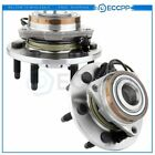 Pair 2 Brand New Wheel Hub Bearing Assembly For Cadillac Chevrolet GMC 4WD 4x4