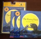 The Kissing Hand by Audrey Penn New Scholastic Listening Center 4 books with CD