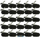 25Pcs Electronic Night Bite Fishing Alarm Alert Bell Clip on Rod with Light NEW