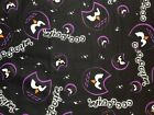 Snuggle Flannel Cotton WHOOOOO Halloween Fabric By The Yard x 41