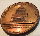 Co. Bronze medal dedication of Grants Tomb Memorial NYC