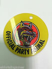 Official Party Animal Pinball Zone Promotional Plastics Key chain KeyChain NOS