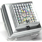 3D Laser Crystal Glass Ornament Display Light Base Boxed FREE SHIPPING S
