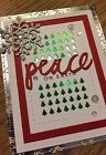 PEACE ON EARTH Christmas Card Kit 4 using Stampin Up  more