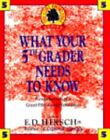 WHAT YOUR 5TH GRADER NEEDS TO KNOW Core Knowledge Series