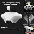 6x9 Speakers Stereo Fairing Detachable Batwing For Harley Davidson Road King