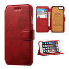 Retro Luxury Leather Flip Wallet Card Holder Stand Case Cover For iPhone7 Plus 7