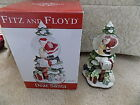 Fitz And Floyd Musical Water Globe We Wish You A Merry Christmas