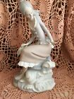 Lladro 4918 At The Sea-Side Retired! No Box! Matte Finish! Mint Condition! L@@K!