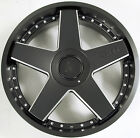 STARR 388 22 x 85 JUDGE BLACK B1 RIMS WHEELS FOR NISSAN ALTIMA COUPE 5H +34