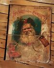 Primitive Hand Crafted Journal - Tuck - Twas the Night Before Christmas - Santa