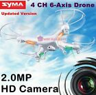 Syma X5C Explorer 24Ghz Drone Helicopter RC 4CH 6 Axis with gyro HD Camera Cam