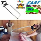 Butcher Hand Saw Cuts Meat Stainless Steel Blades Cutting Hacksaw Kitchen Food