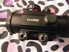 1x4ord scope red  green recticle