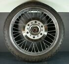 99 Honda Rebel 250 CMX 250 CMX250 OEM rim tire hub CHROME FRONT WHEEL W/ROTOR