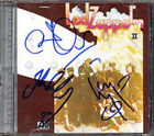 LED ZEPPELIN II MEGA RARE Signed CD Autographed JIMMY PAGE ROBERT PLANT 2