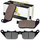 FRONT REAR BRAKE PADS FIT HARLEY DAVIDSON XL1200C SPORTSTER CUSTOM 2004-2013