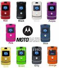 Motorola Razr V3 Factory Unlock Classic Retro Flip Cellular Phone 9 colors