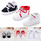 Lovely Toddler Baby Boy Girl Kids Soft Sole Shoes Laces Sneaker Newborn 0 18M