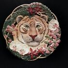 Fitz and Floyd Serengeti Tiger Canape Plate MINT RETIRED