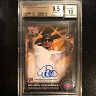 2016 TOPPS NOW #OS6-F WILLSON CONTRERAS (RC) AUTO 1 1 WORLD SERIES BGS 9.5 10 RC