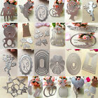 Metal Cutting Dies Stencil DIY Scrapbooking Embossing Album Paper Card Craft W8