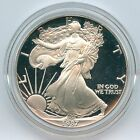 1987 1 Choice Proof American Silver Eagle Complete With Boxes COA and Capsule