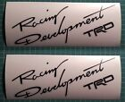 2 X Racing Development Trd Body Side Decal Sticker Fits Gt86 Tacoma Tundra