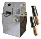 SS Electric Sugar Cane Juicer Press Machine 110V with Two Knives