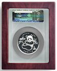 New Certified Coin Glass Lid Large Big NGC Slab 3 inch Capsule Box ATB Silver