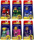 Alvin and The Chipmunks & Chipettes Complete Action Figure Set 3.5