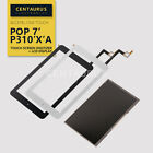 For Alcatel One Touch POP 7 P310 P310X P310A LCD Display Touch Screen Digitizer