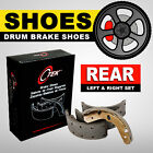 Drum Brake Shoes REAR SET Toyota Corolla 1993 2002 Geo Prizm 1989 1997