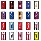 Personalised Football team Samsung Cases S4 S5 S6 Note 3 5 Cover Any Name Number
