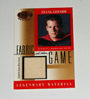 2001 Frank Gifford Leaf Certified Fabric of the Game JERSEY Card Giants HOF NFL