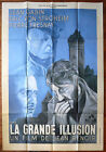 LA GRANDE ILLUSION French movie poster Reissue 47x63 Jean Renoir 1937