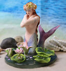 55 Inch Hundred Tears Mermaid Fairy Bust Mystical Statue Figurine