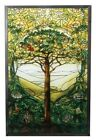 Ebros Louis Tiffany Northrop Memorial Window Tree of Life Stained Glass Art