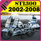 Heyman ABS Fairing Fit ST1300 2002-2008 02-08 Pan-European White Blue H13H47