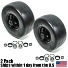 (2) Toro Z Master Front Solid Caster Wheel Tire 633971 644251 Flat Free 13X6.5-6