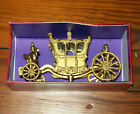 Britains, Crescent royal state coach with box, metal, gold color